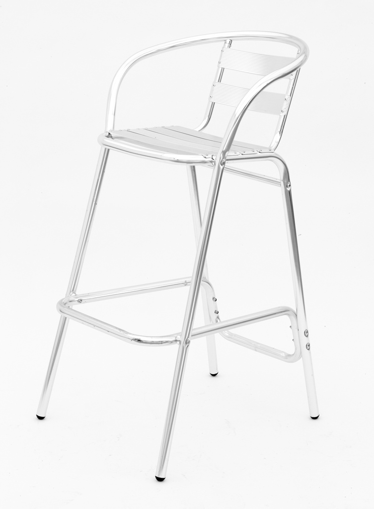Bar Stool - Aluminium - $12