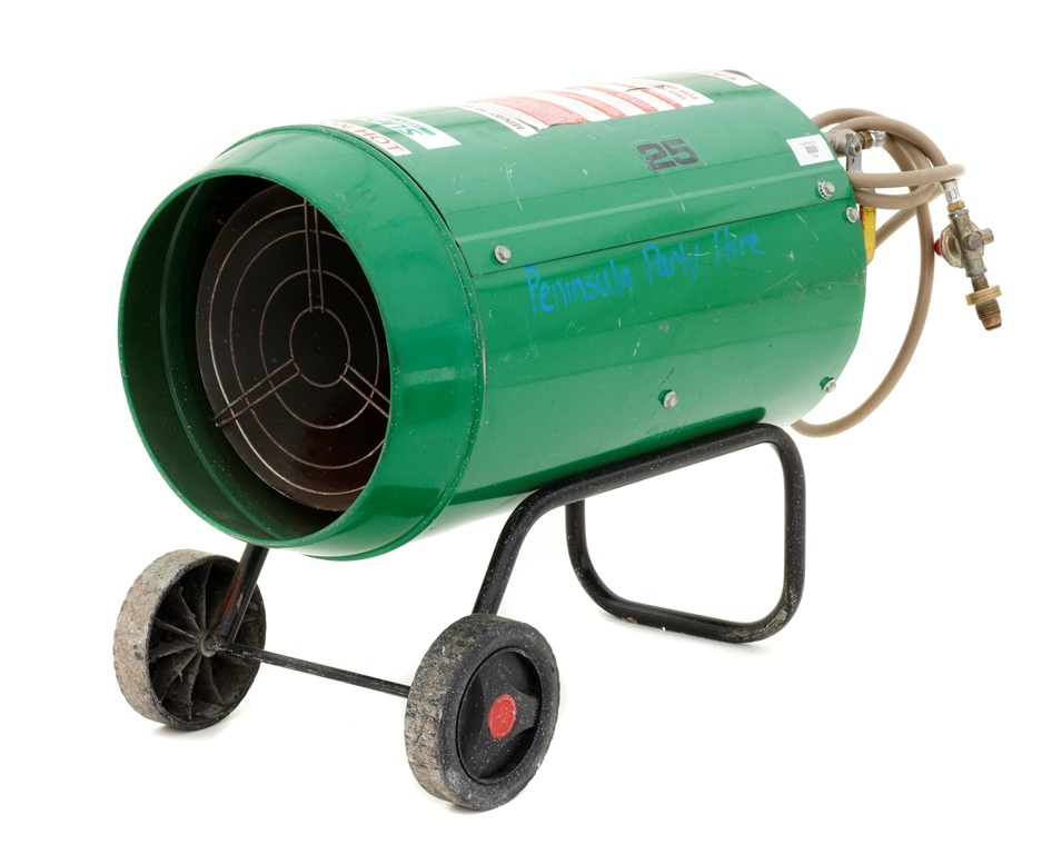 Blow Heater - Lge (2-9kg gas bottles) - $110