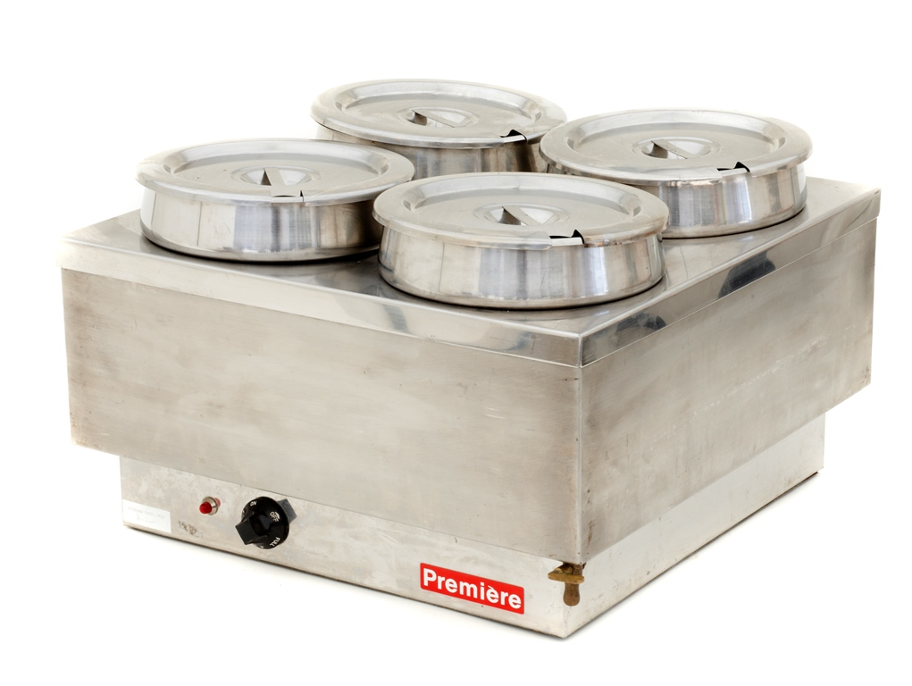 Bain Marie - 4 Round Deep Pots: $50.00