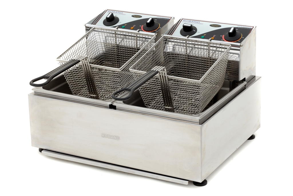 Electric Deep Fryer - Twin Basket 5 Ltr ea.: $90.00