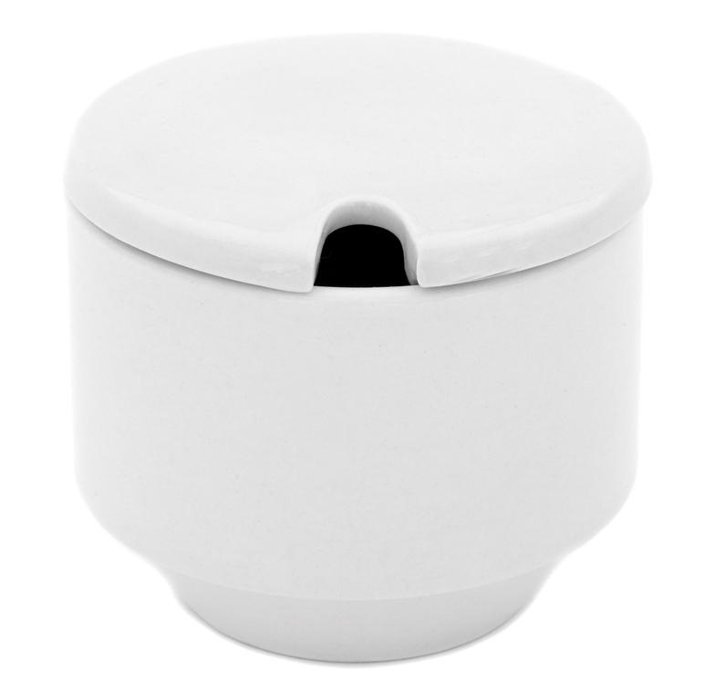 Sugar Bowl - White China - $2.90
